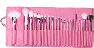 Flylink 化粧ブラシセット メイクブラシセット 可愛いピンク専用収納ケース付き 22本セット