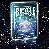 Bicycle Constellation Series - Libra - Kartenspiel - Zaubertricks und Props -