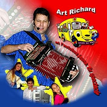Et l'autobus jaune en spectacle