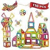 Crenova Bausteine 116 Teiliger Bausatz Enthält Riesenrad Aufbewahrungstasche Büchlein Ideales Spielzeug als Geschenk für Kinder