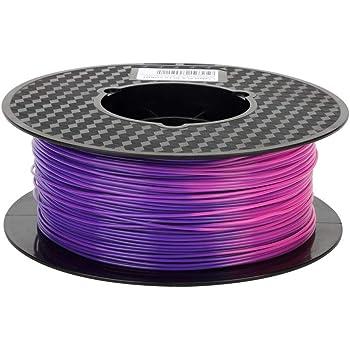 Eono Silk Silver PLA Filament 1.75 mm 3D Printer Filament 1KG 2.2 ...