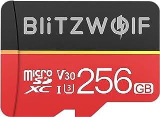 BlitzWolf Class 10 V30 1080p FHD 32GB 64GB 128GB 256GB Micro SD TF Memory Card BW-TF1 (256G)