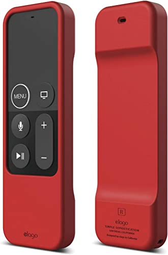 elago Magnet Apple TV Remote Case for Apple TV 4K / 4th Generation Siri Remote Controller - Magnet Technology, Light ...