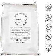 CEREAUSLY Organic White Quinoa in Bulk | 10 Lb | Restaurants | Wholesale | Bolivian | Royal | NON-GMO | Kosher | Gluten-Free | Vegan