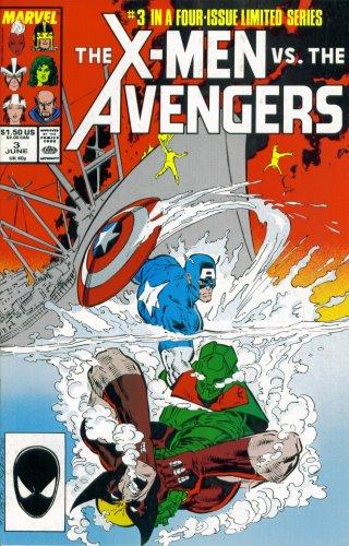 The X-Men Vs. The Avengers #3: The Soviets Strike Back (Marvel Comic Book 1987)