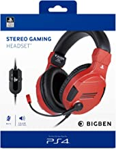 Sony Official Licensed Stereo Headset- Red (PS4, PC, Smartphones and Tablets)