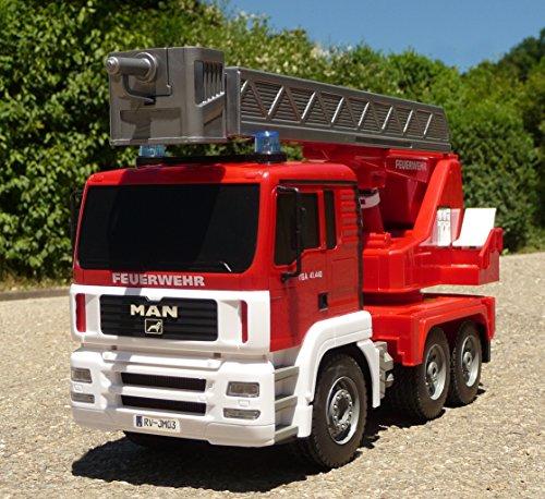 RC Auto kaufen Feuerwehr Bild 3: RC FEUERWEHR LKW MAN mit 7 Funktionen 35cm Ferngesteuert 2,4GHz*