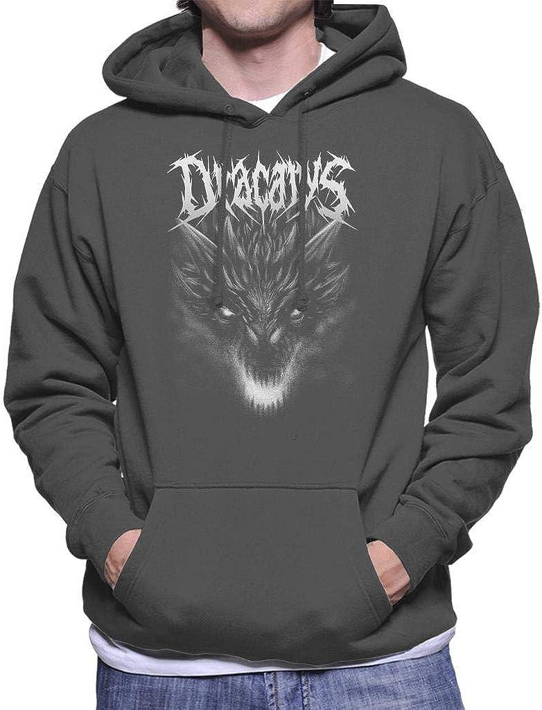Dracarys Metal Band Targaryen Game of Thrones Men's Hooded Sweatshirt