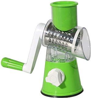 متعدد الوظائف طبل أواني طهي يدوية دوارة مبشرة Coleslaw تقطيع Green Cheese Chopper