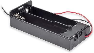 18650 Battery Holder with Leads, Besmelody 2 x 3.7v 18650 Battery Storage Box Case 2-Slot - 6