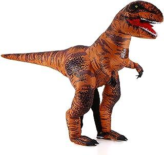Tickas大人スーパーティラノサウルスインフレータブルコスチューム小道具爆発インフレータブルファンシードレス用ハロウィンコスプレパーティーステージパフォーマンス