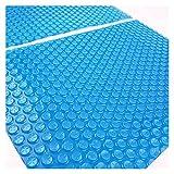 Cubierta de la piscina solar del rectángulo, azul Thermal F