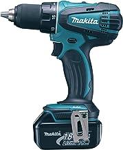 Makita 18V LXT Cordless Driver Drill BL 13mm 4Ah, DDF456RME