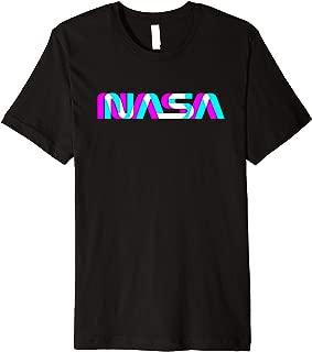 NASA Worm Logo Apollo 11 Gifts Design Art Space Costume Premium T-Shirt