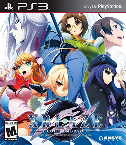 Xblaze Code:Embryo - PlayStation 3 by Aksys