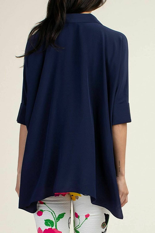 Trina Turk Women's Oversized Button Downt Op