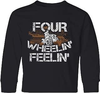 inktastic 4 Wheeling Mudding Activity Youth Long Sleeve T-Shirt