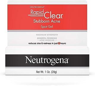 Neutrogena Rapid Clear Stubborn Acne Spot Gel Pack of 2 Multi