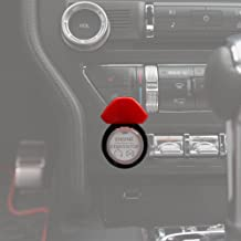 mustang push button start cover