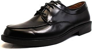 [ルミニーオ] ビジネスシューズ Uチップ 防水 3E PU革靴 ブラック 紳士靴 lufo61 [並行輸入品]