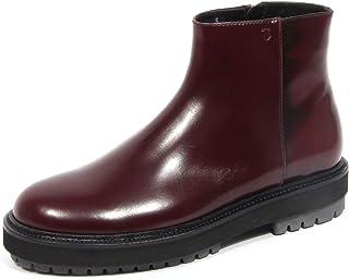 Tod's G2018 Beatles Stivaletto Uomo Burgundy Leather Boot Man