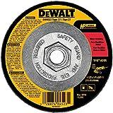 DEWALT DW4523 4-1/2-Inch by 1/4-Inch by 5/8-Inch General Purpose Metal Grinding Wheel