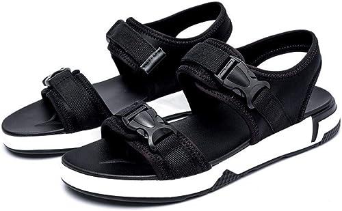 GJLIANGXIE Sandales pour Hommes été Nouvelle Version Coréenne De Sandales Hommes De La Sandale Extérieure Rouge Net été Chaussures De Plage Chaussures Pantoufles De La Mode Masculine