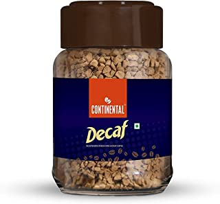 Continental Decaf Decaffeinated Instant Coffee 50g Jar