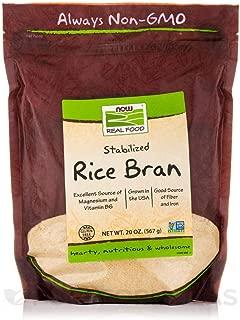 NOW Foods Rice Bran - 20 oz - 2 pk