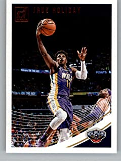 2018-19 Donruss #17 Jrue Holiday New Orleans Pelicans Basketball Card