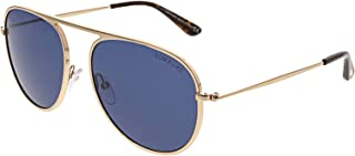 Tom Ford - FT0621 28V 57 Monturas de gafas, Dorado (Oro Rosã LucidoBlu), 57.0 Unisex Adulto