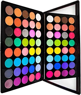 Eye Shadow Palette by Sacha Cosmetics, Best Professional Highly Pigmented Eyeshadow Makeup Powder Kit, Shimmer Glitter & Matte Colors, Matte