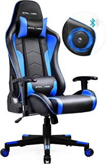 GTPLAYER Silla Gaming con Altavoz Bluetooth Escritorio