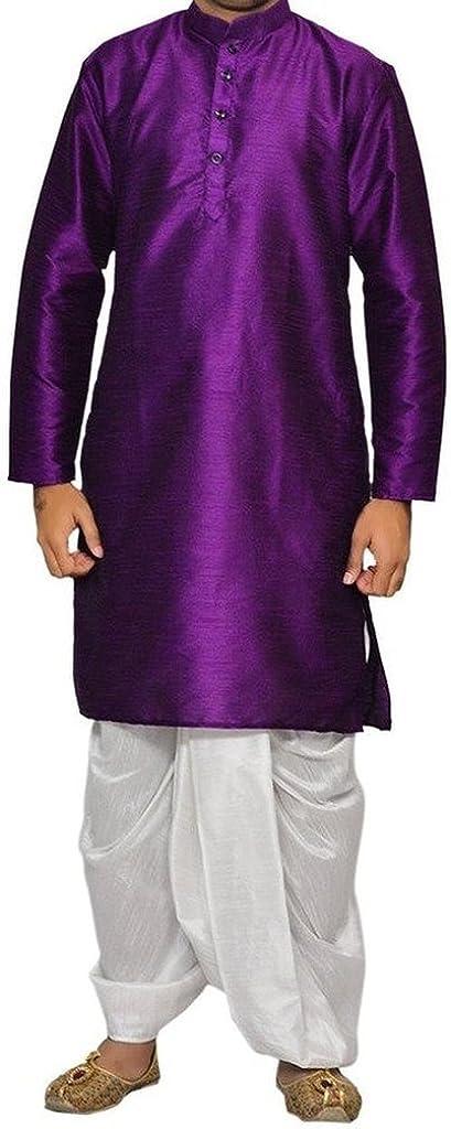 Men's Bollywood Style Dhoti Kurta Set