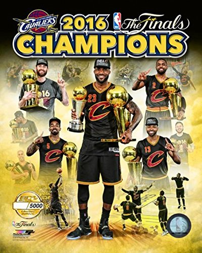 The Poster Corp Cleveland Cavaliers 2016 NBA Finals Champions PF Gold - 11x14's SALD OUT Stampa fotografica (40,64 x 50,80 cm)