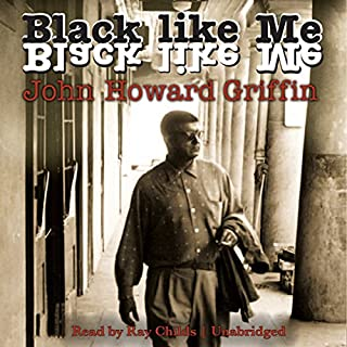 Black Like Me audiobook cover art
