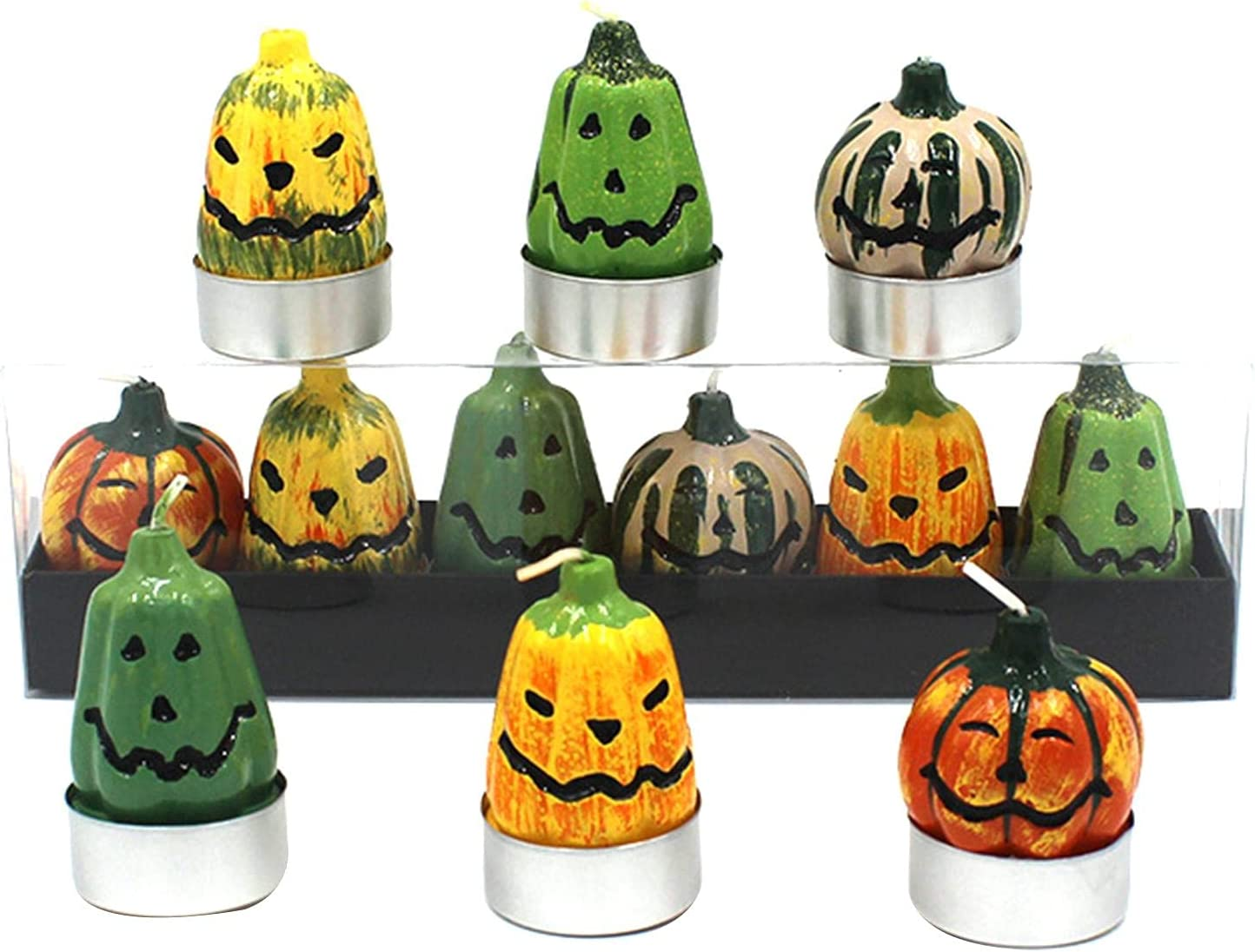 A R Halloween Tealight Candles Manufacturer direct delivery 6 Cute Tealigh Pieces Lights Superior Tea