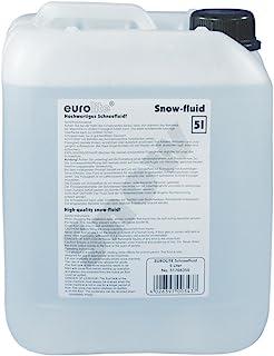 Eurolite S-2 sneeuwluid, 5L | Sneeuwvloeistof voor kunstsneeuw | Made in Europe | Hoogwaardige vloeistof voor je sneeuwschine