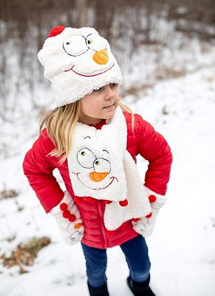 Enesco Dr Mitten Department 56 Scarf Seuss Grinch Snow Wear Sherpa Fleece Hat