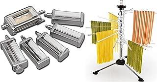 KitchenAid KPEX Pasta Excellence Set (KPRA + KRAV + KPCA) Attachment Pack + Rack KPDR
