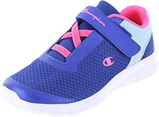 33ea2b90819318 Champion Girls Gusto Strap Cross Trainer Running Shoes - Trendy   Stylish -  Adhesive Stap for