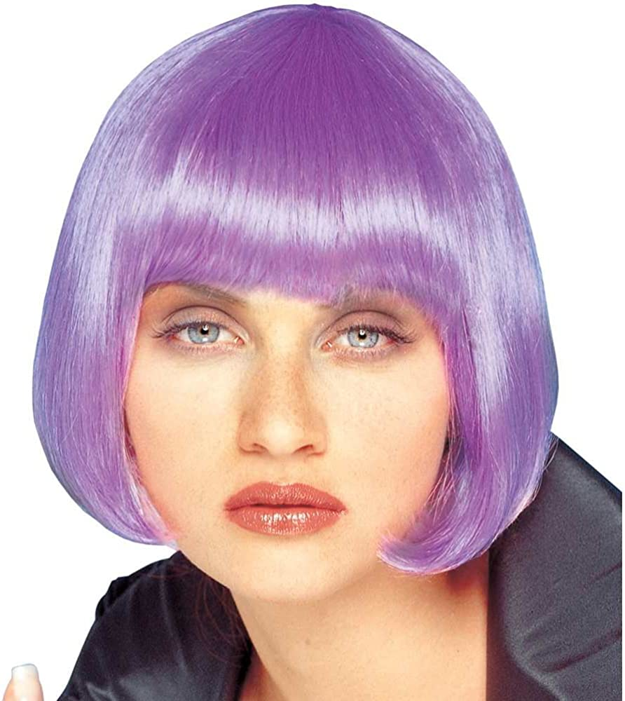 Be Inventory cleanup selling sale super welcome Franco Short Lilac Costume Sassy Wig