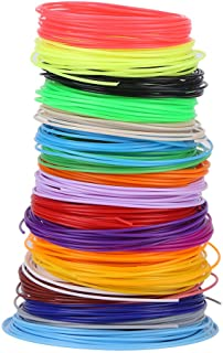 Filament Refills, 20 Colors 1.75mm PCL Filament Refills For 3D Printer Printing Pen Low Temperature