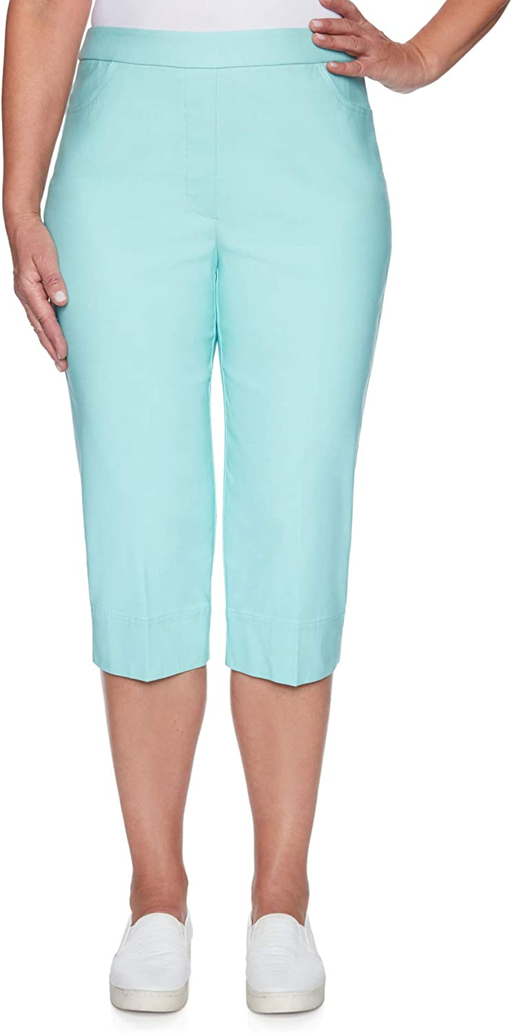 Challenge the lowest price Alfred Dunner Women's Classic Fit Sale Special Price Digger Clam Pant Allure