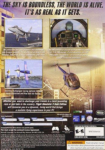 Microsoft Flight Simulator X Gold Edition - Juego (PC, Simulación, E10 + (Everyone 10 +))