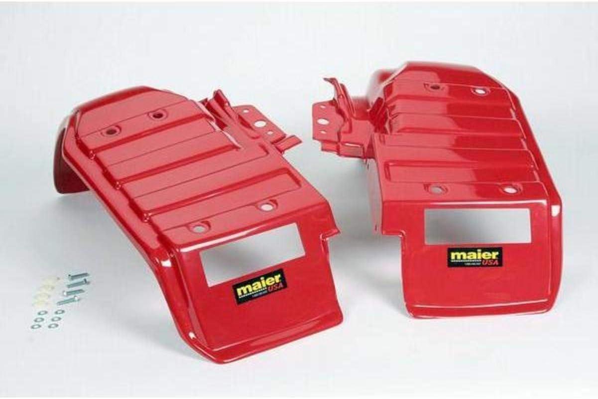 Maier New Regular store color 11895-2 Red Rear Pair Fender