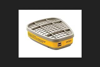 3M 6003 Respirator Cartridge for Certain Organic Vapors and Acid Gases, 2/Pack
