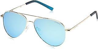 نظارات شمسية افياتور مستقطبة للاولاد من بولارويد، ذهبي - 8015/N