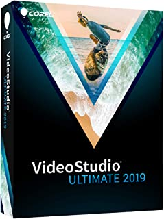 VideoStudio Ultimate 2019 - Video & Movie Editing [PC Disc]