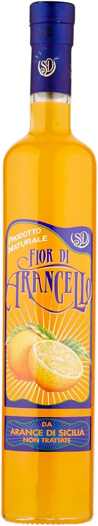 D&d, fior di arancello liquore, 500 ml, liquore naturale ottenuto da arance siciliane non trattate DD45G0715H0000
